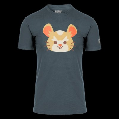 【丹】暴雪商城_Overwatch Wrecking Ball Shirt 鬥陣特攻 火爆鋼球 倉鼠 男版 T恤