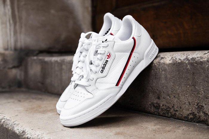 [JIMI 2] adidas Original - Continental 80 傳奇經典鞋款 復古網球鞋