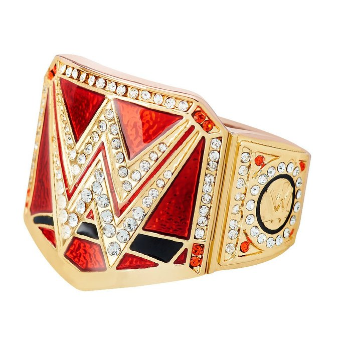 ☆阿Su倉庫☆WWE摔角 Universal Championship Finger Ring 全球冠軍限量戒指 熱賣中