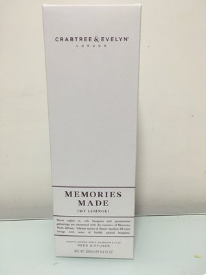Crabtree& Evelyn Memories Made Diffuser