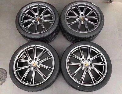 【B&M 精品】保時捷 原廠 20 21 22吋 鋁圈 Porsche Cayenne panamera Macan S 凱燕 帕拉梅拉 所有車款皆有