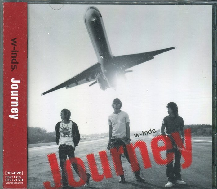 【塵封音樂盒】w-inds. - Journey CD+DVD
