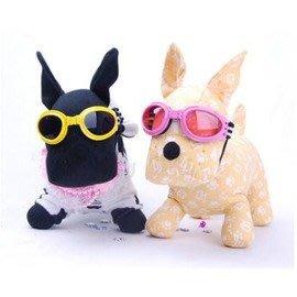 【寵物眼鏡-4~25kg皆可用(可調節)】 狗狗眼鏡 寵物貓咪用品  顏色隨機,4~25kg皆可用(可調節)-79011