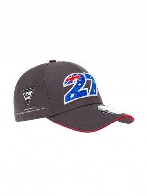 27 石頭人Cap Cap Casey Stoner World Champion 2007-2011 布帽 羅西小舖