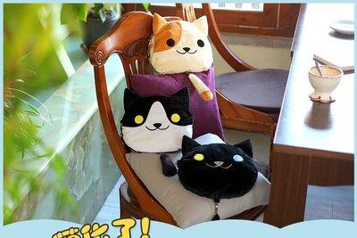 【紫色風鈴】遊戲貓咪後院幽靈抹茶冰激凌斜挎包背包單肩包毛絨公仔
