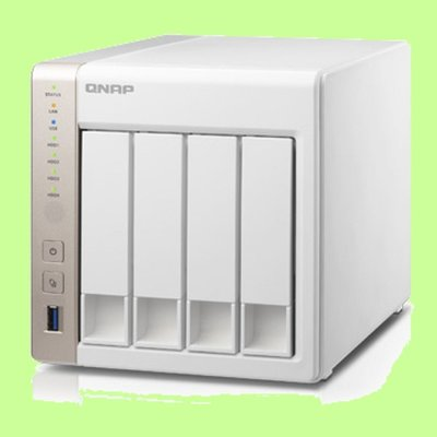5Cgo【權宇】QNAP TS-451-1G 網路儲存設備 可加 UX-800P 擴充至12碟 60TB 含稅會員扣5%