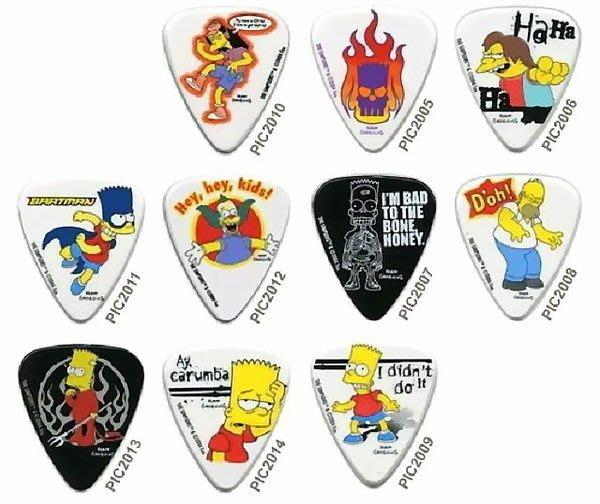 ☆ 唐尼樂器︵☆澳洲製 Grover Allman Simpsons 辛普森家庭烏克麗麗/木吉他/電吉他 Pick 彈片