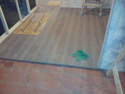 風格木地板企業有限公司~1/05~基隆暖暖區~超耐磨木地板架高作品~!