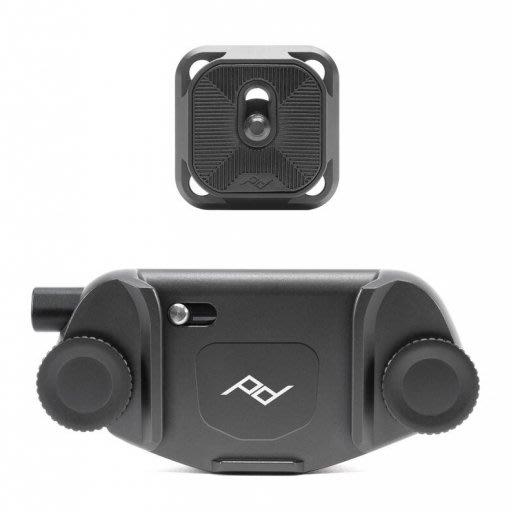 【新鎂】PEAK DESIGN 美國 Capture V3 相機快夾系統 (時尚銀) (典雅黑)