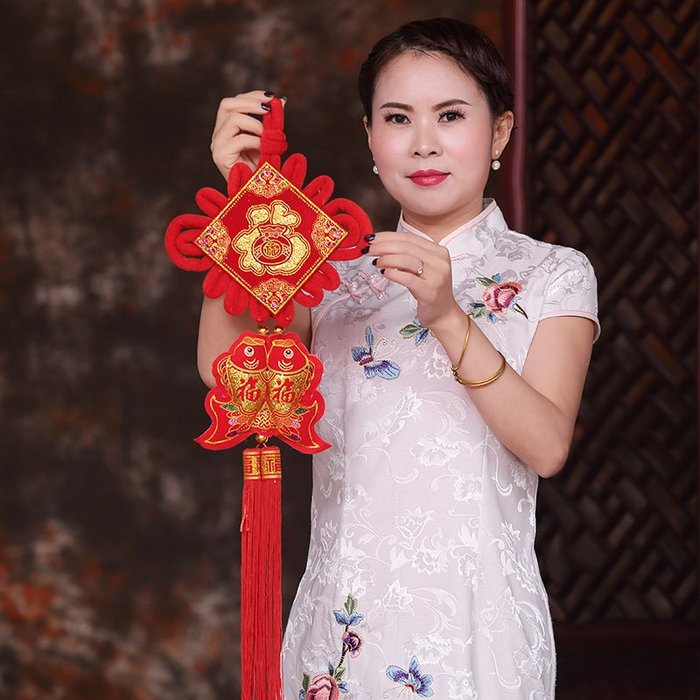 【berry_lin107營業中】新年過年中國結掛件客廳大號掛飾喬遷新房門福字壁掛春節裝飾用品