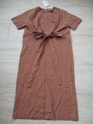 全新有牌 棉65% 正韓 韓貨 韓風 DABA-GIRL  有彈性 綁帶 蝴蝶結 短袖洋裝