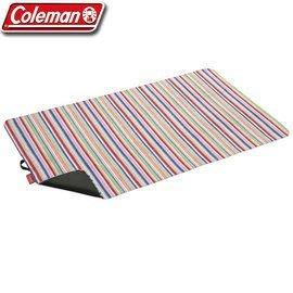 【偉盟公司貨】丹大戶外【Coleman】粉紅條紋迷你野餐休閒墊 CM-10659