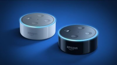 All-New AMAZON Echo Dot (2nd Generation) 2個 全新第二代 亞馬遜 智能聲控管家