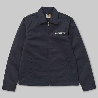『WORKZOO』Carhartt WIP Modular Jacket 外套 硬漢風 深藍 現貨