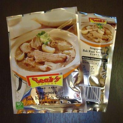 新加坡特產~新加坡美食~☆Seahs香氏肉骨茶湯料☆現貨供應~立即寄出~