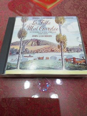 classic compact discs 24ct GOLD La Fille Mal Gardee