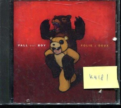 *真音樂* FALL OUT BOY / 二手 K4181 (封面底破.CD有缺口不影響讀取) (清倉.下標賣4)