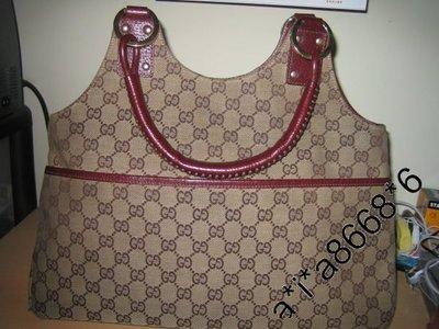 Gucci Vintage 90% New 手挽  側咩  兩用袋