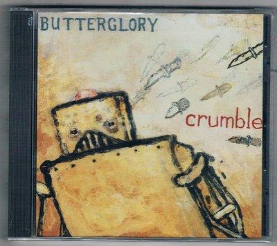 [鑫隆音樂]西洋CD-BUTTERGLORY / CRUMBLE {MRG071CD}原裝進口/全新