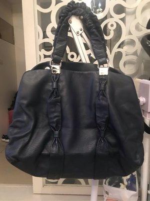 正品FURLA手提包全新 深藍色,特價優惠