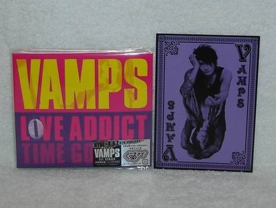 (彩虹樂團L'Arc~en~Ciel Hyde,K.A.Z)VAMPS-Love Addict(日版CD+DVD限定盤)
