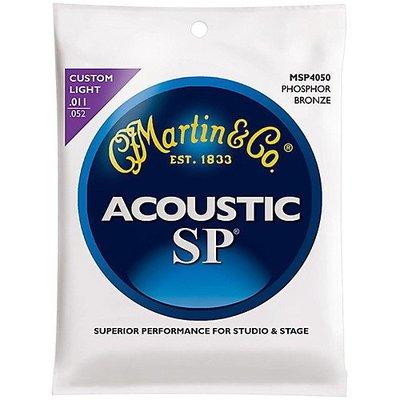 ☆ 唐尼樂器︵☆ Martin SP MSP4050 .011 磷青銅金弦木吉他/民謠吉他弦演奏級