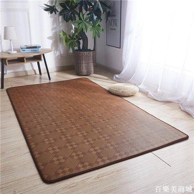 精選  地毯臥室拼接榻榻米地墊北歐客廳茶幾涼席墊夏季兒童床邊爬行墊子