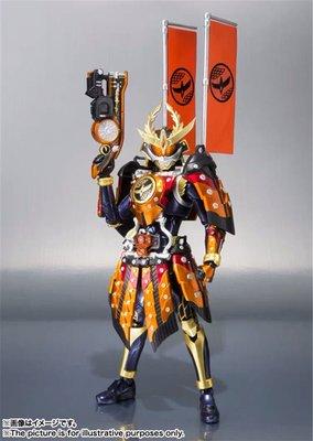日版 萬代 SHF 假面騎士鎧武 勝哄戰甲 凱旋 大將軍 火繩大橙DJ槍