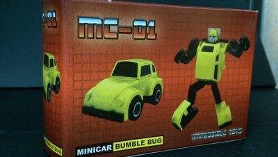 B-3 櫃 : IMPOSSIBLE TOYS 變形金剛 MC-01 BUMBLE BUG 大黃蜂 天富玩具店