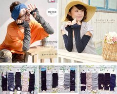 嘉芸的店 防曬袖套出清 日本50-60CM加長型 防紫外線日本袖套 涼感加長型手套(特價品 不挑色 不挑款 售完為止)