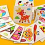 【小太陽玩具屋】拼圖 木質動物交通水果蔬菜立體拼圖 寶寶幼兒童木製益智拼板 6075