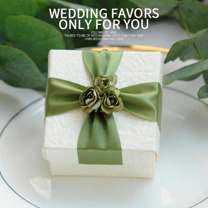 衣萊時尚-熱賣款  新款喜糖盒子 結婚創意婚禮糖果盒婚慶用品 SA04