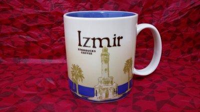 【幸運心】Starbucks 星巴克 土耳其 城市杯 馬克杯 Izmir 伊茲密爾 已絕版
