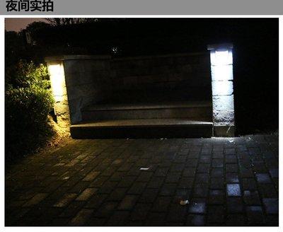 【綠市集】光控太陽能燈太陽能8LED庭院壁燈籬笆燈戶外柵欄燈太陽能草坪燈路燈 白光/ 暖光A0286-5 高雄市