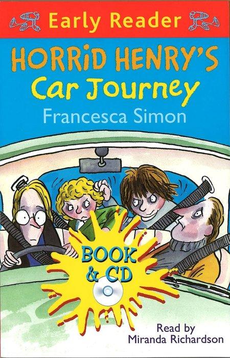 *小貝比的家*HORRID HENRY'S CAR JOURNEY /書+CD/7~12歲
