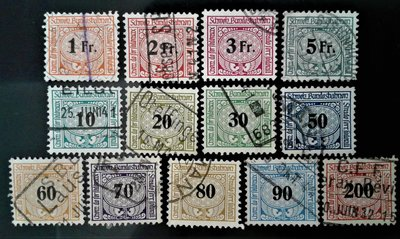 P10191 /  瑞士鐵路郵票 / railroad