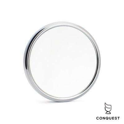 【 CONQUEST 】德國 MUHLE SP2 Shaving mirror 吸盤修容鏡 化妝鏡 5倍 5X放大功能