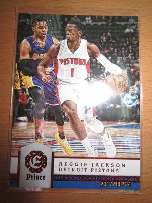 網拍讀賣~Reggie Jackson~活塞隊球星~PRINCE限量卡/149~015/149~同雷霆隊背號~普特卡~