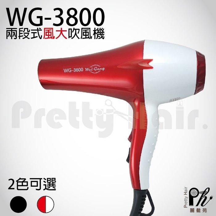 【麗髮苑】 免運費+贈品 萊斯特 HY-3800 重型吹風機 冷溫熱風 超強風 專業兩段式