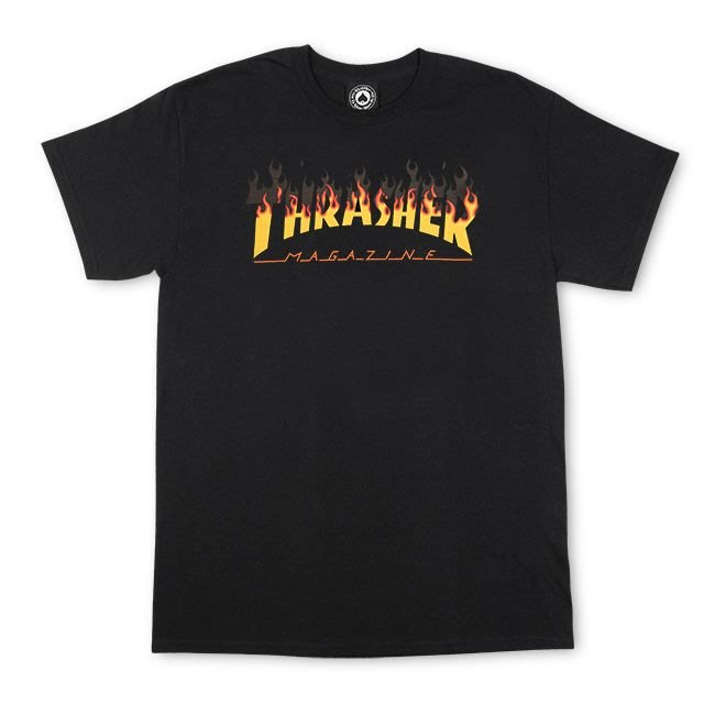 (安心胖) Thrasher B B Q T-shirt 燒烤 XL