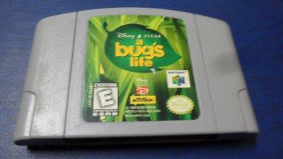 黑色小館------遊戲卡帶k------Disney.PIXAR  a bugs life
