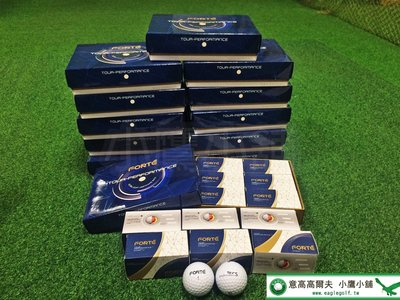 [小鷹小舖] FOREMOST FORTE TOUR-PERFORMANCE S TPS 高爾夫球 極度柔軟 三層球