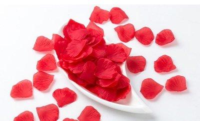 【♥豪美禮品館♥】兩色可選-(紅、粉)仿真玫瑰花瓣 仿真花瓣 花童灑花 進場道具 求婚道具