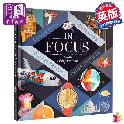 [文閲原版]世界奇趣大透視 英文原版 In Focus 101 Close Ups Cross sections and