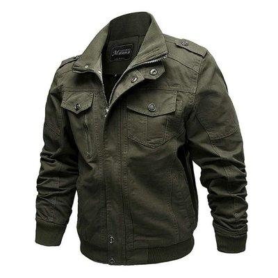 軍裝 外套 立領夾克-寬鬆純棉個性純色男外套3色73wn15[獨家進口][米蘭精品] 高雄市