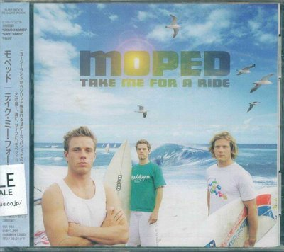 K - Moped - Take Me For A Ride - 日版 +3BONUS - NEW