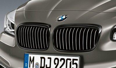 ✽顯閣商行✽BMW 德國原廠 M Performance F45 2AT/F46 2GT 黑鼻頭 水箱罩