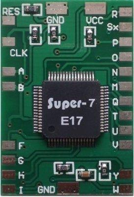 [高屏科技](全新) PS2 改機芯片 PS2直讀 IC SUPER-7 E17