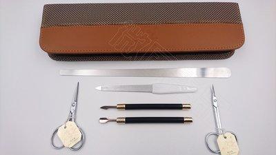 【微風髮品】美甲師指定款 - 西德「飛天馬指甲刀」 指甲剪,直剪.彎剪六件修容組《公司貨》