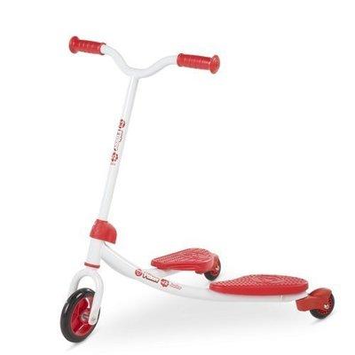 holiway哈樂維 Flicker J2 雙翼搖擺車-學習款 兒童搖擺車 紅色